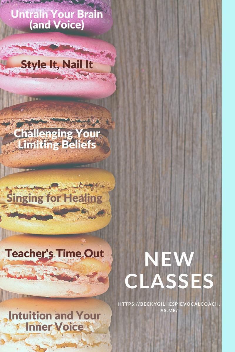 New Classes Web