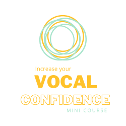 Vocal Confidence Mini Course Logo